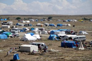 Syrian refugees' camp in Cappadocia, Turkey