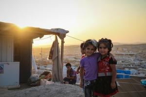 Domiz refugee camp. Photo by IOM Iraq
